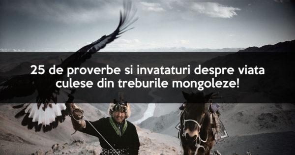 25 de proverbe si invataturi despre viata culese din triburile Mongoleze!