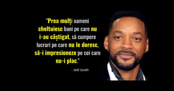 O selectie de citate inspirationale ale lui Will Smith despre societatea actuala!