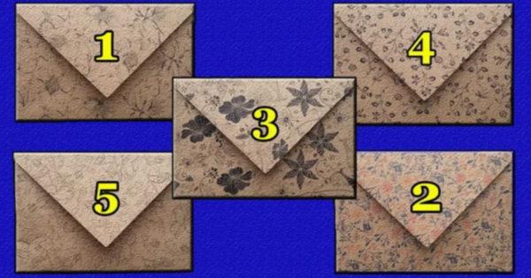 Avem o scrisoare pentru tine: alege un plic și află mesajul sorții