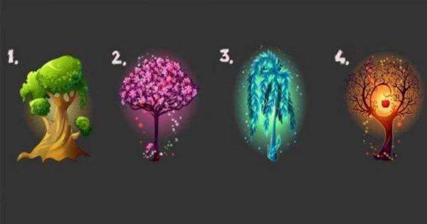 Cei patru copaci ai fericirii. Alege și tu unul și află ce îți aduce fericire în viață