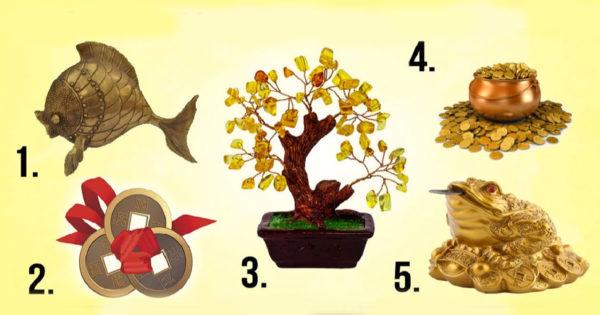 Alege unul dintre cele 5 simboluri ale prosperității și află ce îți aduce succes în viață
