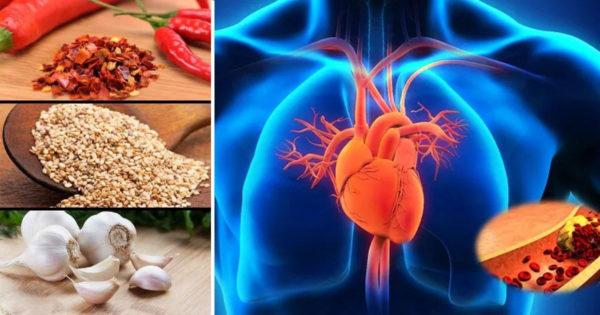 14 alimente care îți vor stimula circulația și îți vor întări inima