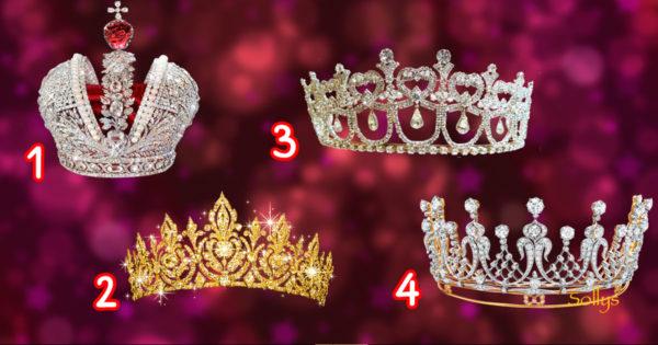 Alege o coroană și află care sunt cele mai speciale calități care te definesc
