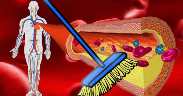 9 produse care to vor ajuta să cureți venele de depunerile de colesterol