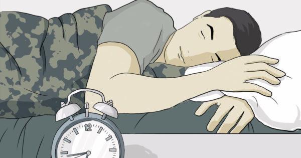 Cum să adormi mai repede. Militarii folosesc această metodă pentru a adormi în 2 minute.