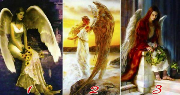 Alege unul dintre cei trei îngeri și află de ce este trist sufletul tău