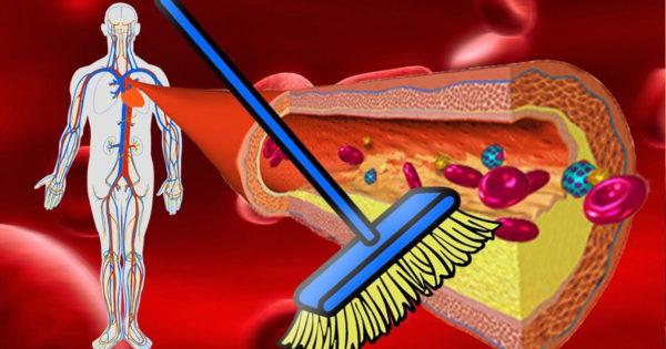 8 alimente care vă pot curăța vasele de sânge!