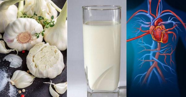 Proprietățile uimitoare pentru sănătate ale laptelui cu usturoi