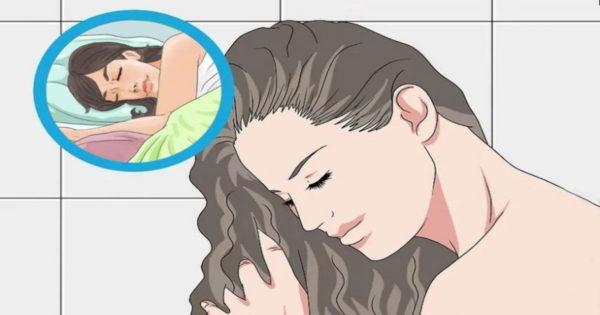 10 motive pentru care nu este bine să te culci cu părul ud